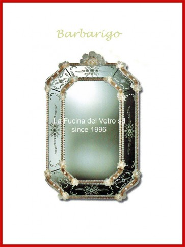 "Murano glass mirror ""BARBARIGO"""