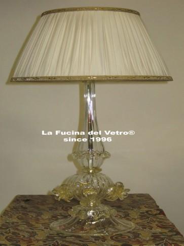"Murano glass table lamp ""CLASSIC"""