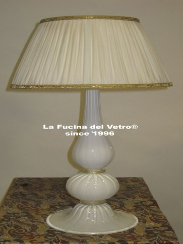 "Murano glass table lamp ""PASTORAL"""