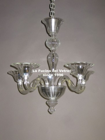 """MODERN PASTORAL"" Murano glass chandelier"