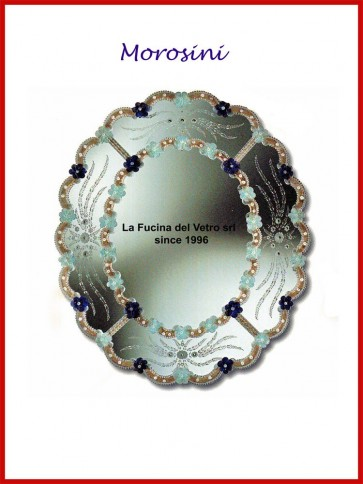 "Murano glass mirror ""MOROSINI"""