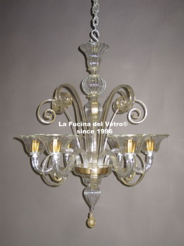 """PASTORAL"" Murano glass chandelier"