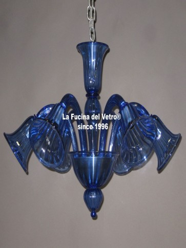 "Murano glass ceiling lamp ""ALL ARMS"""