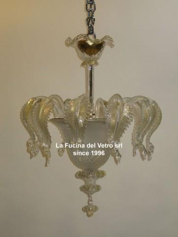 "Murano glass ceiling light ""CLASSIC"""