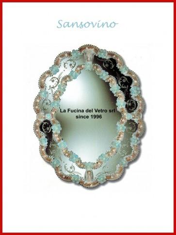 """Murano glass mirror """"SANSOVINO"""""""