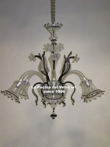 PLUG Murano glass chandelier