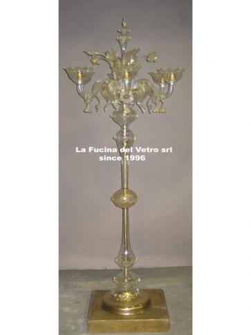 """Murano glass floor lamp """"CLASSIC"""""""