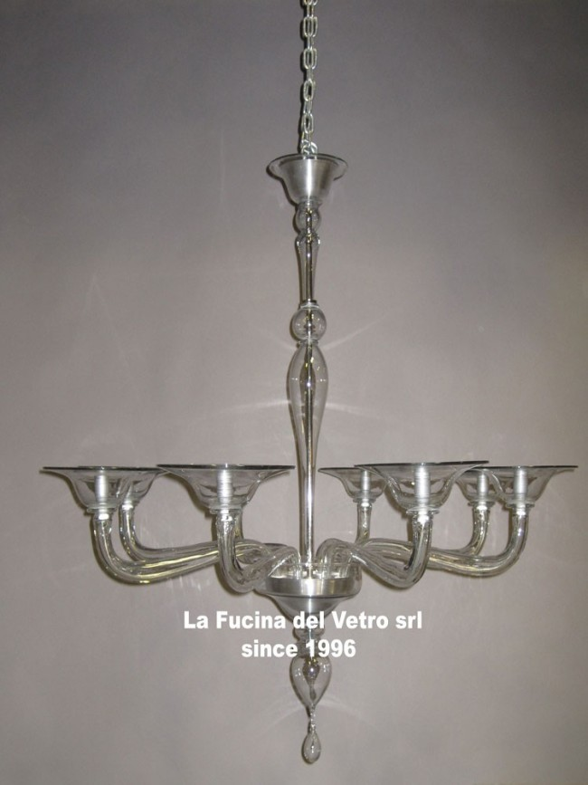 Murano glass chandelier modern pipe modern pipe murano glass chandelier aloadofball Images