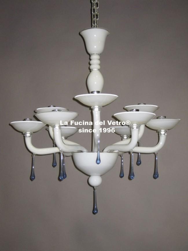 Modern plates murano glass chandelier modern plates murano glass chandelier aloadofball Images