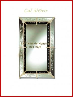 """Murano glass mirror """"CA' D'ORO"""""""
