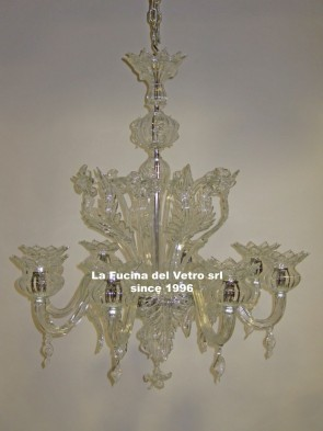 "Murano glass chandelier ""ONION"""