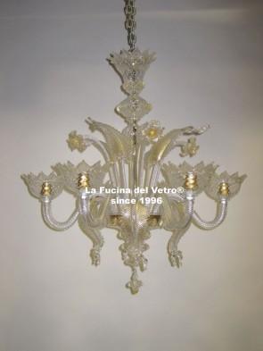 """CLASSIC"" Murano glass chandelier"