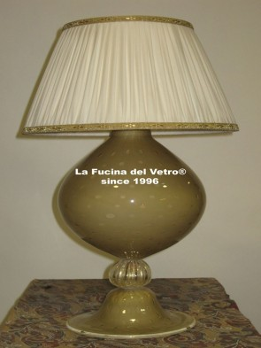 "Murano glass table lamp ""BUBBLES"""