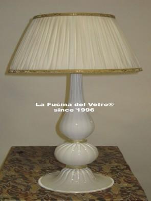 "Murano glass table lamp ""PASTORAL"""