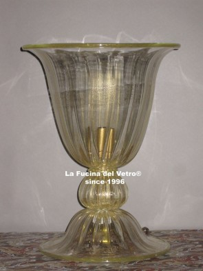 "Murano glass table lamp ""TROPHY"""