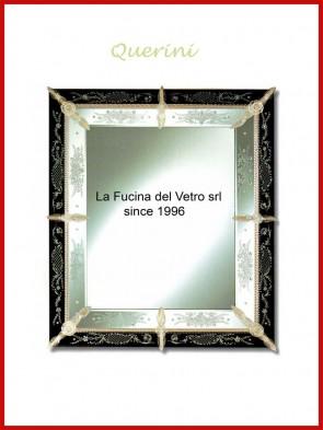 """Murano glass mirror """"QUERINI"""""""