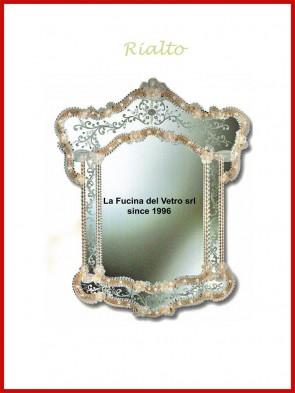 """Murano glass mirror """"RIALTO"""""""
