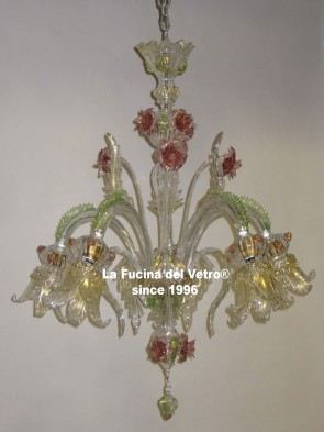 CENTURY Murano glass chandelier