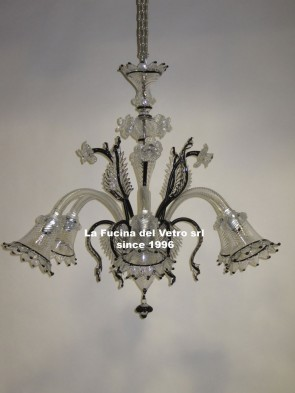 PLUG Murano glass chandelier