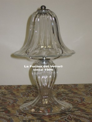 "Murano glass bedside lamp ""PASTORAL"""