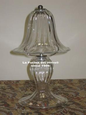 "Murano glass bedside lamp ""PASTORAL"""