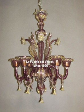 "Murano glass chandelier ""PRIDE"""