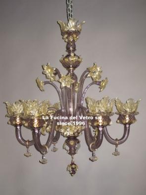 OLD CENTURY Murano glass chandelier