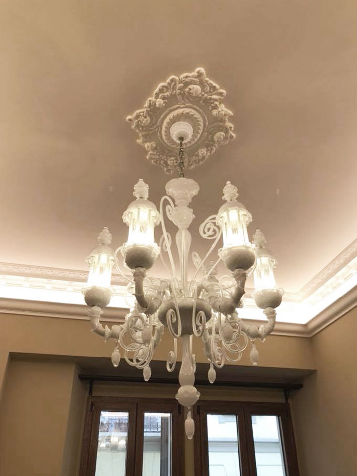 Lampadario vetro Murano