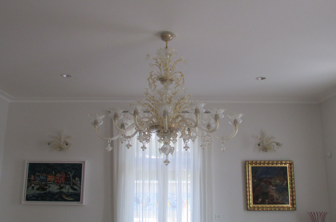 Murano chandelier sale Original Murano glass